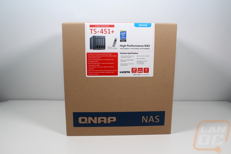 QNAP TS-451+ - LanOC Reviews