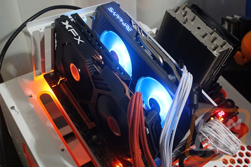 RX580 Crossfire Testing