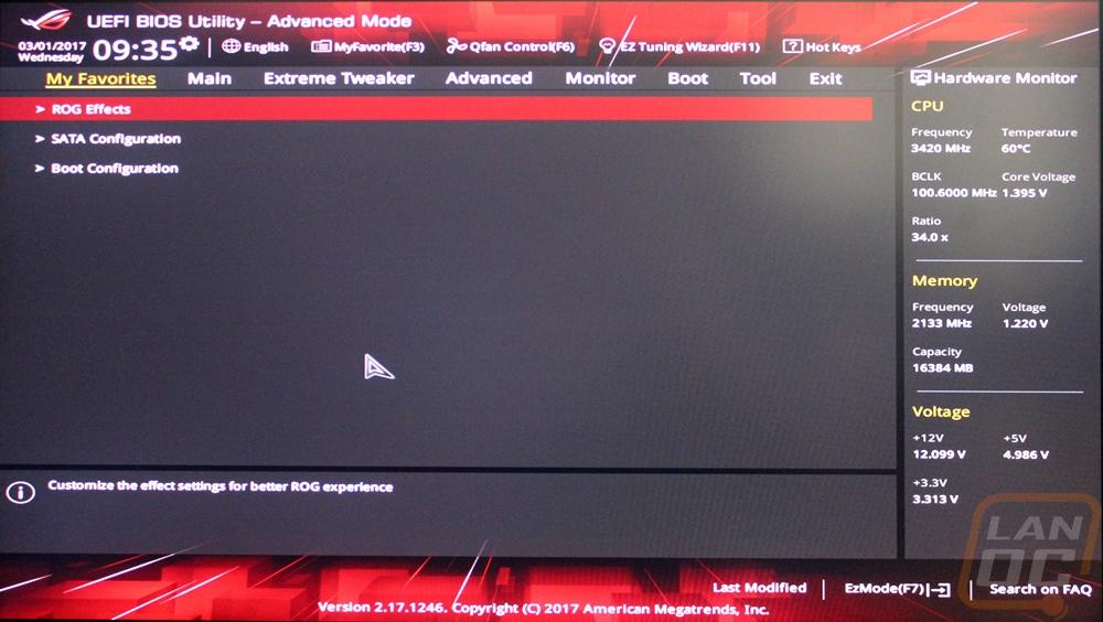 Asus Crosshair VI Hero - LanOC Reviews