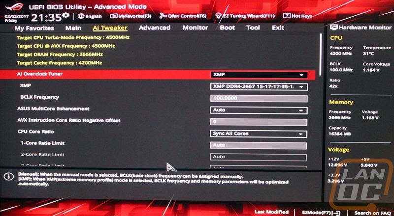 Asus Strix Z270E Gaming - LanOC Reviews