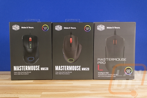 Cooler Master MM520, MM530, and MasterMouse Pro L