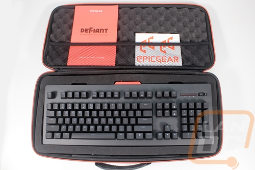 EpicGear DeFiant Mechanical Keyboard Set