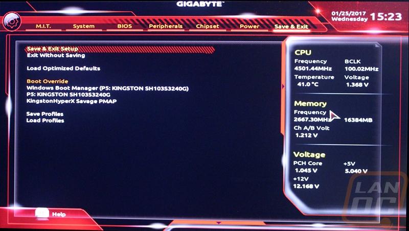Gigabyte Aorus Z270X-Gaming K7 - LanOC Reviews