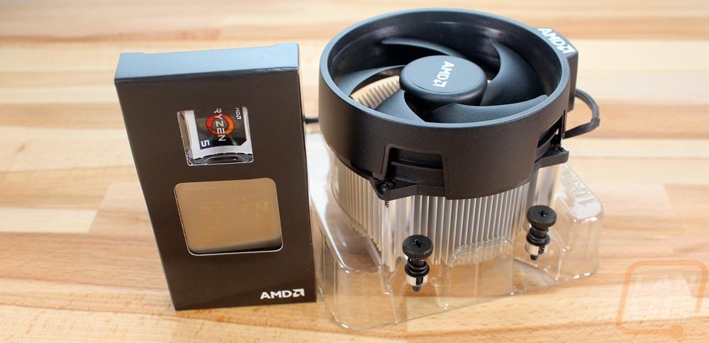 Ryzen Stock Coolers - LanOC Reviews