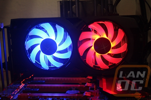 XFX Hard Swap LED Fans