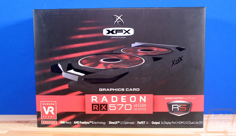 XFX RX 570 4GB RS - LanOC Reviews