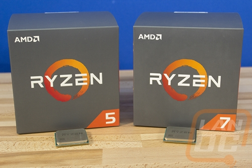 AMD Ryzen 7 2700X and Ryzen 5 2600X