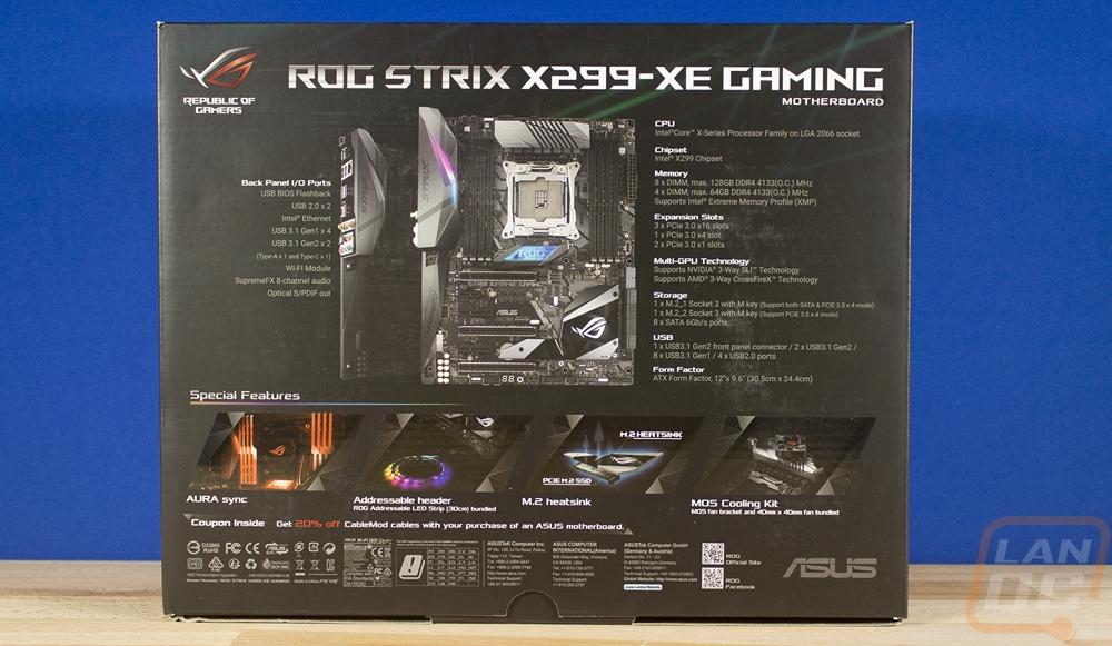 Asus ROG Strix X299-XE Gaming - LanOC Reviews