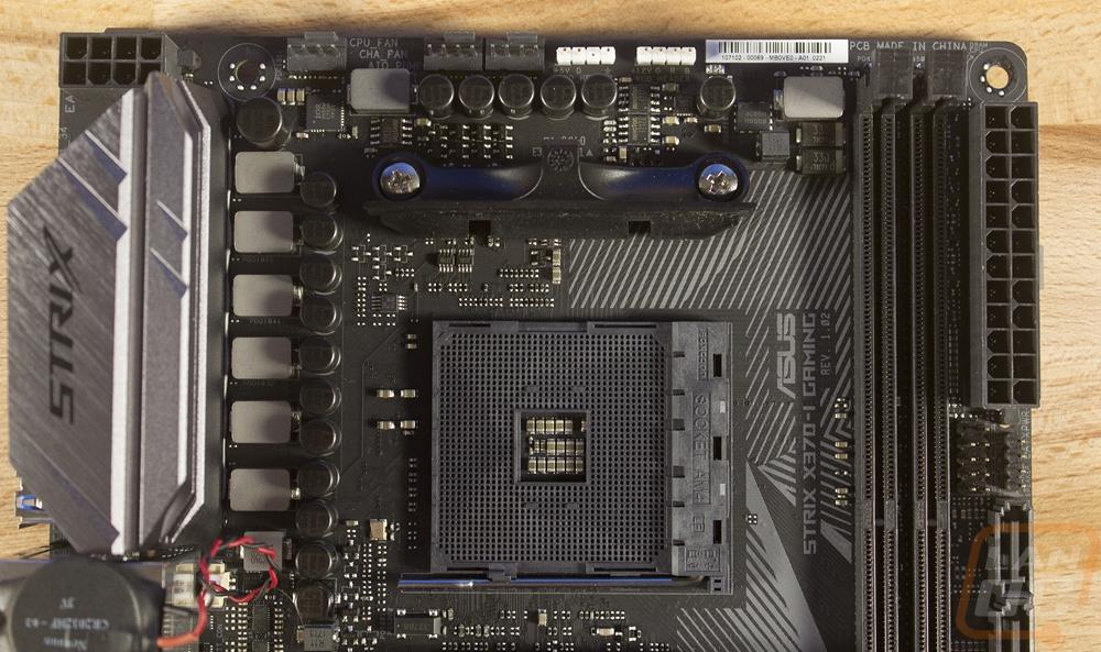 Asus ROG Strix X370-I Gaming - LanOC Reviews