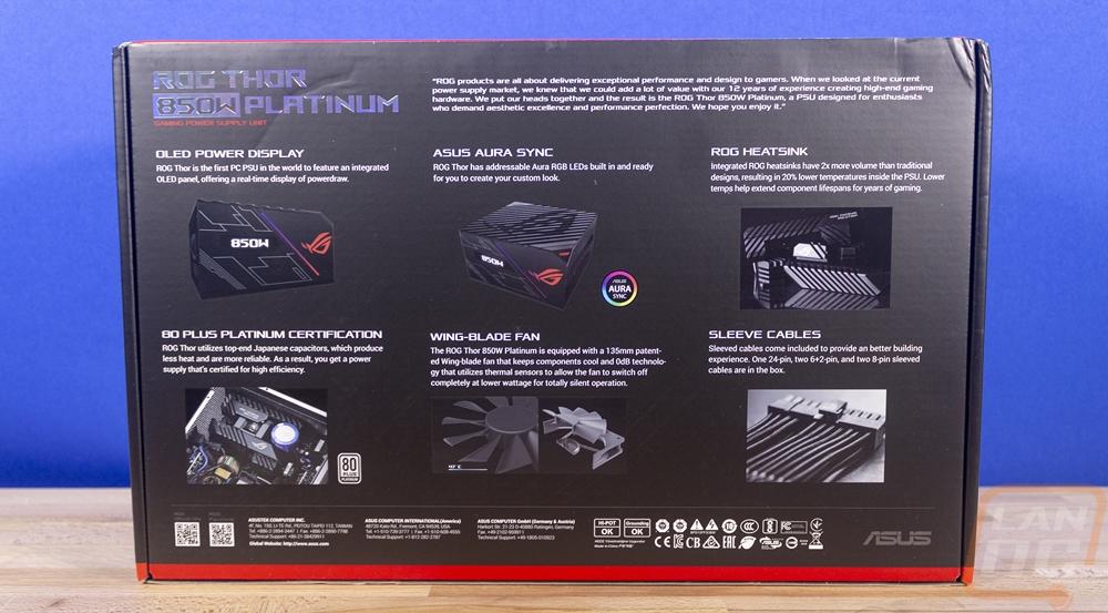 Asus ROG Thor 850W Platinum - LanOC Reviews