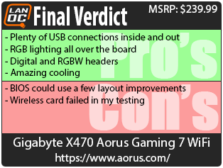 Gigabyte X470 Aorus Gaming 7 WiFi - LanOC Reviews