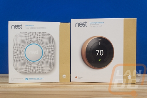 Nest Thermostat and Protect