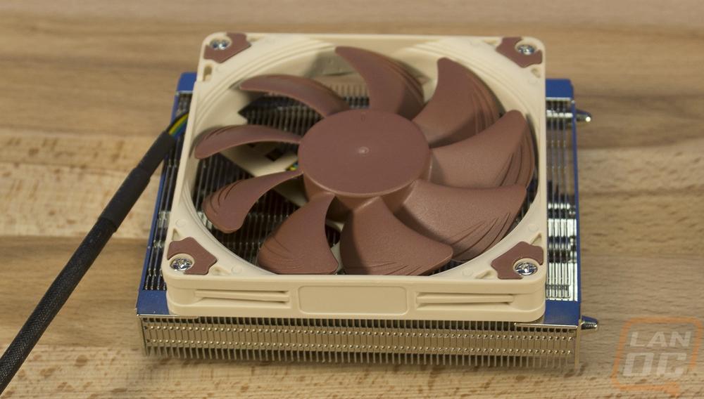 Brown Noctua NH-L9a AM4 37mm Premium Low-profile CPU Cooler for AMD AM4