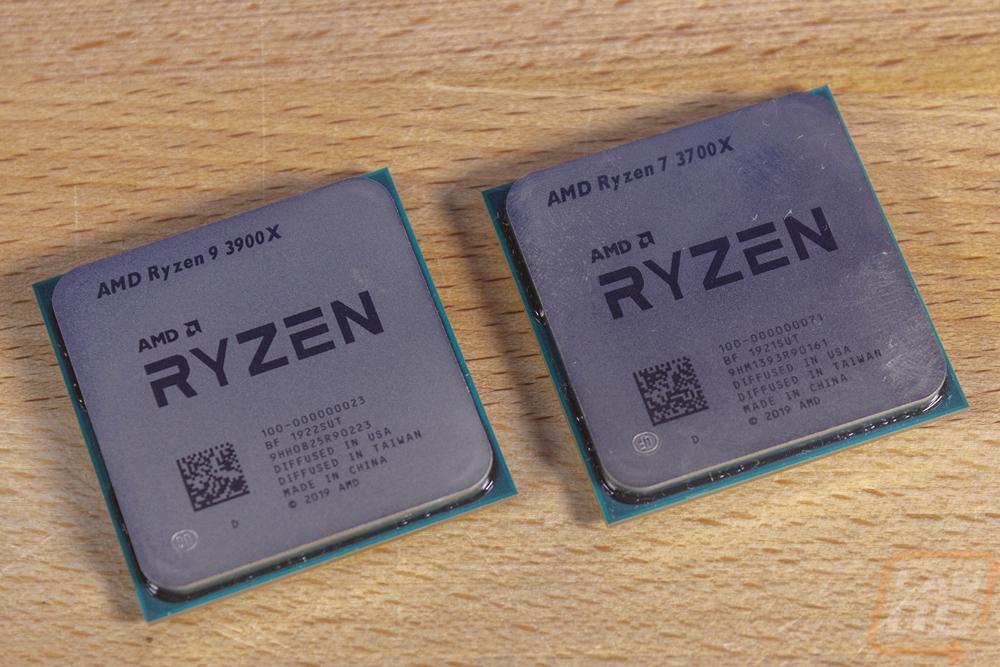 Amd Ryzen 7 3700x And Ryzen 9 3900x Lanoc Reviews