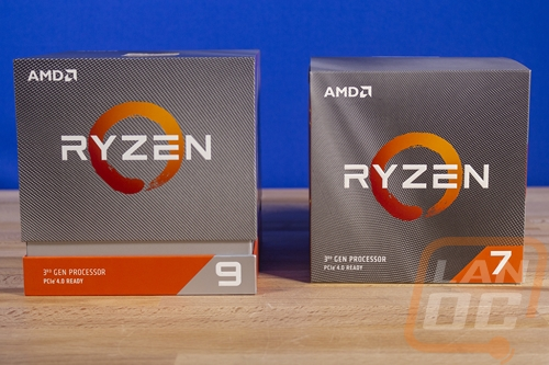 AMD Ryzen 7 3700X and Ryzen 9 3900X