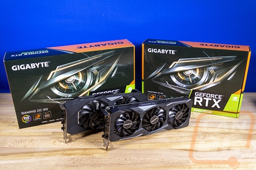 Gigabyte RTX 2060 SUPER Gaming OC and Windforce OC