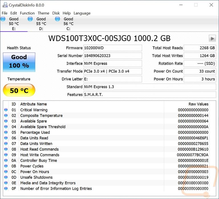 WD Black SN750 1TB - LanOC Reviews