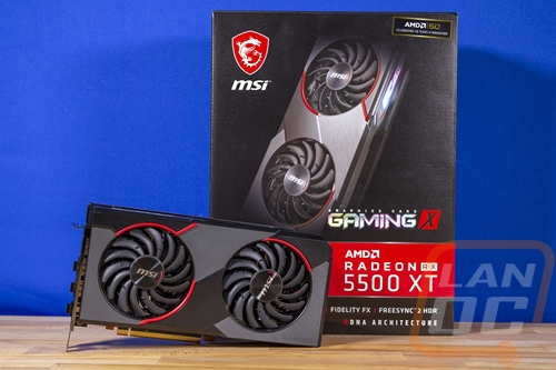 MSI RX 5500 XT Gaming X 8GB