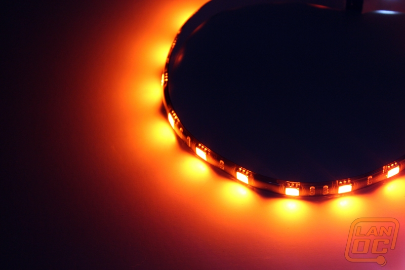 Alchemy connect led strip lights lanoc reviews 30cm orange and 30cm white led light strips aloadofball Image collections
