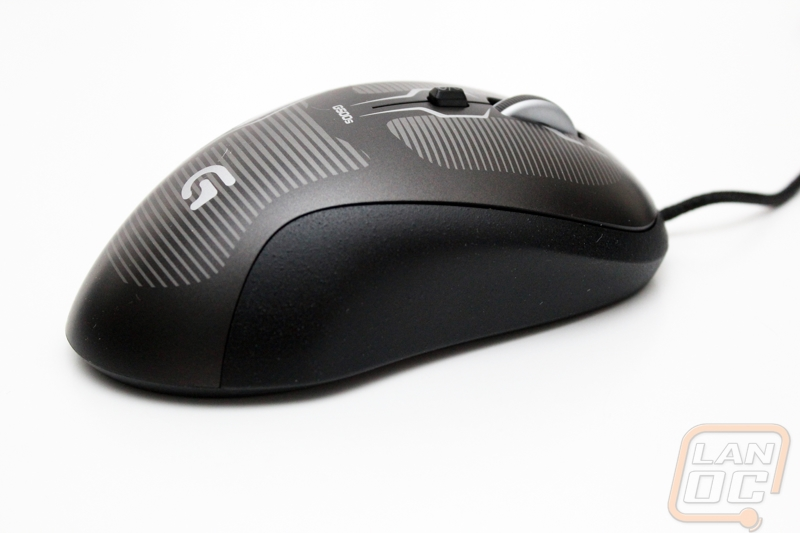 278f1cdf50b On the flip side the G500s is one of the cleanest looking mice on the bottom.  Most mice will have their serial number and a sticker with all of the ...