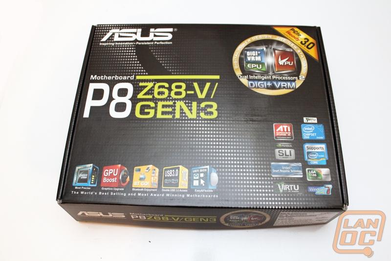 ASUS P8 Z68-V/GEN3 - LanOC Reviews