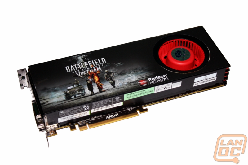 The only card giving the HD6970 a run for its money is AMD's own HD6870 in  Crossfire. Imagine what two HD6970's will do!