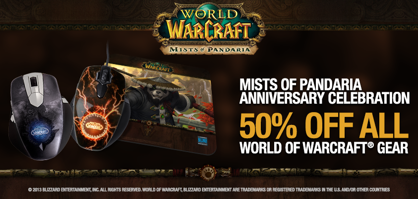 50% off World of Warcraft Gear - LanOC Forums - LanOC Reviews